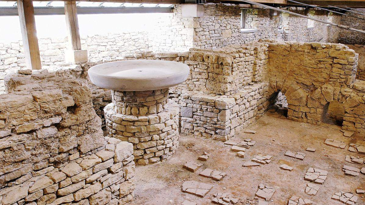 Hüfingen Roman Bath Ruins; photo: Roland Sigwart