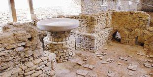 Innenansicht der römischen Badruine Hüfingen