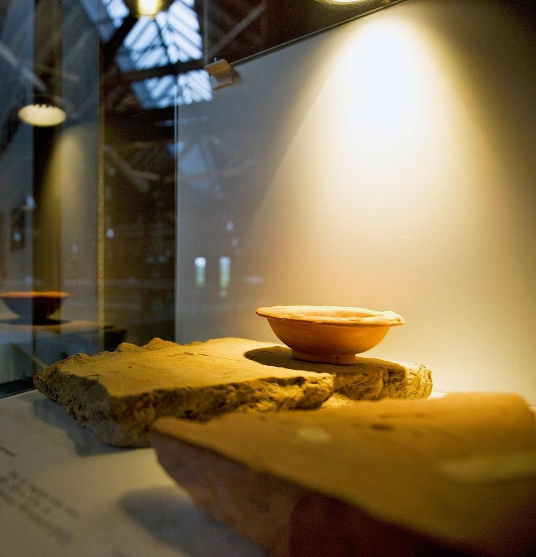 Hüfingen Roman Bath Ruins, exhibition