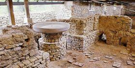 Vestiges des bains romains à Hüfingen